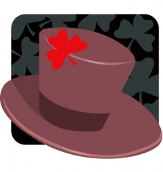 hat vector image vector image