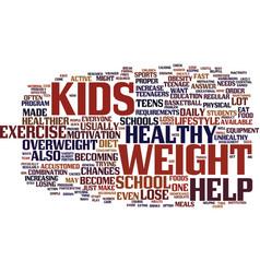 Loss school teen weight text background word vector