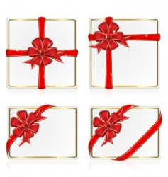 Set from greeting cards vector