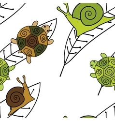 Cute animals seamless pattern Wallpaper vector image