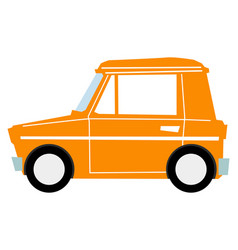 microcar vector image
