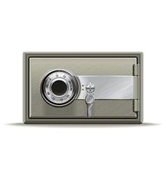 Safe deposit vector image