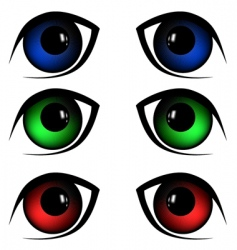 Eyes illustration vector