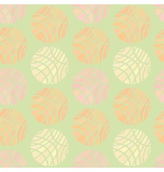 Striped spheres of different pastel colors vector