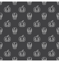Halloween seamless pattern or background vector