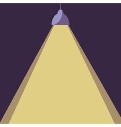 Office lamp light vector