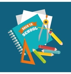 Back to school graphic vector