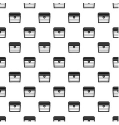 Chest pattern vector