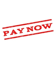 Pay now watermark stamp vector
