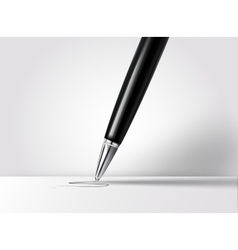 Realistic pen vector image vector image