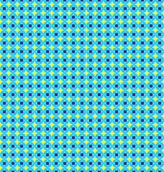 Seamless Geometrical Pattern Unusual Blue and vector image vector image
