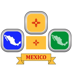 Symbol of mexico vector