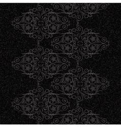 Vintage rustic swirls pattern vector image