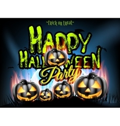 Happy halloween typographical background eps 10 vector