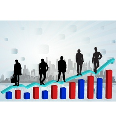 global markets vector image