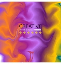 Abstract colorful background with effect of silk vector