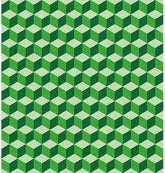 Green cubes seamless texture vector
