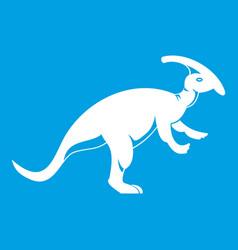 parazavrolofus icon white vector image