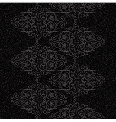 Vintage rustic swirls pattern vector