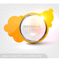 Glass Frame vector image