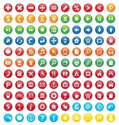 signange icons vector image