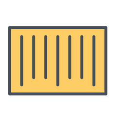 Barcode pixel perfect line icon 48x48 vector