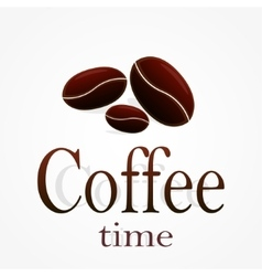 Coffee time stock vector image vector image
