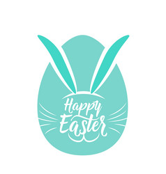 Cute fun happy easter vector