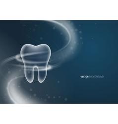Dental background design vector