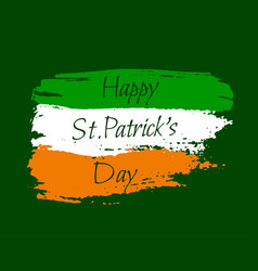 Happy st patrick background vector