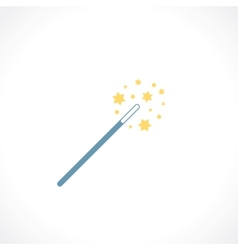 Magic wand vector