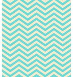 turquoise gradient chevron seamless pattern vector image vector image