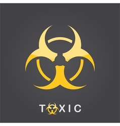 Toxic sign vector