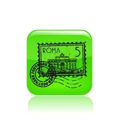 rome icon vector image