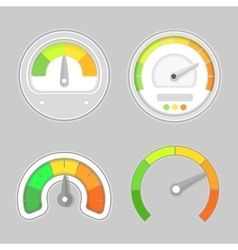 Gauge meter element vector