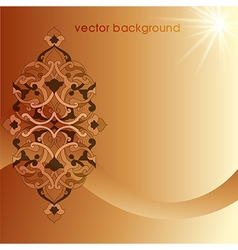 decorative cover template eighty eight vector image