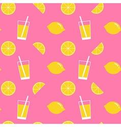 Lemon pattern vector
