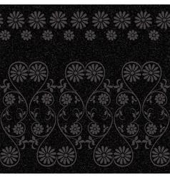 Vintage rustic flower pattern vector image vector image