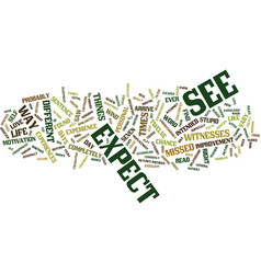 Eureka i ve found it text background word cloud vector