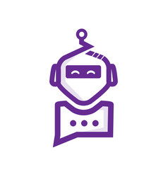 Chat robot vector