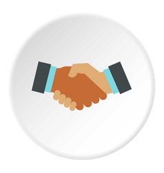 International deal icon circle vector