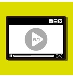 Media player design vector