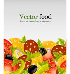 Natural food vector