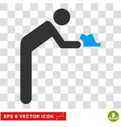 Servant eps icon vector