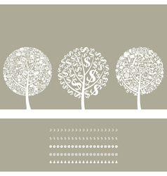 Tree business2 vector