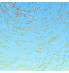 Abstract sun and wind vector