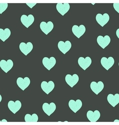 Hearts color hand-drawn seamless pattern vector