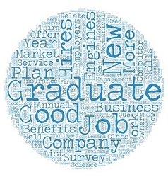 Jobs for the new grad dlvy nicheblower com text vector
