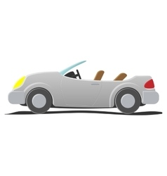 Convertible - cartoon vector