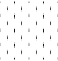 Barley ear pattern simple style vector